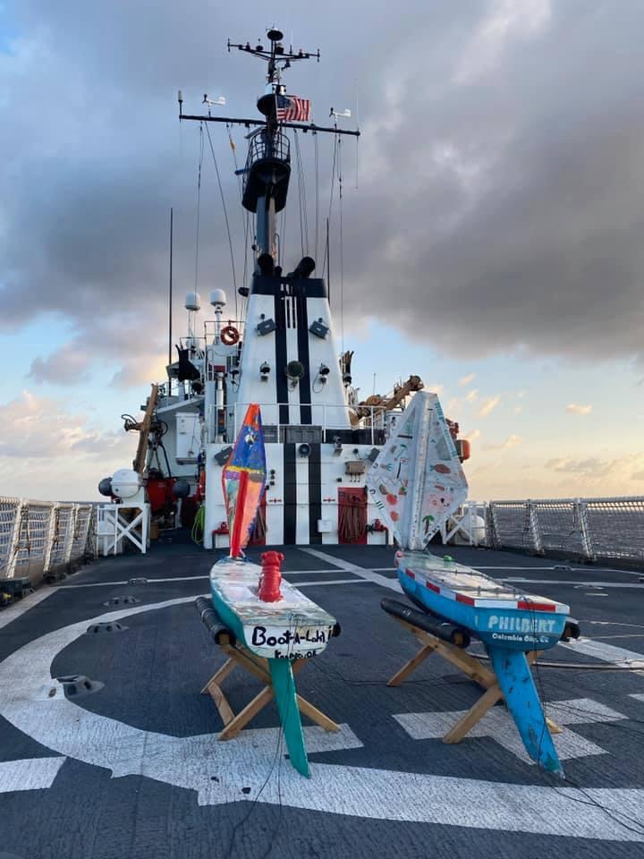 bal and philbert on coast guard feb 2020