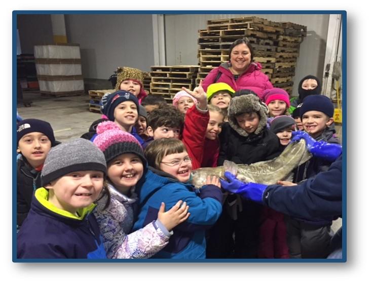 Scarborough Students visit Portland Fish Exchange